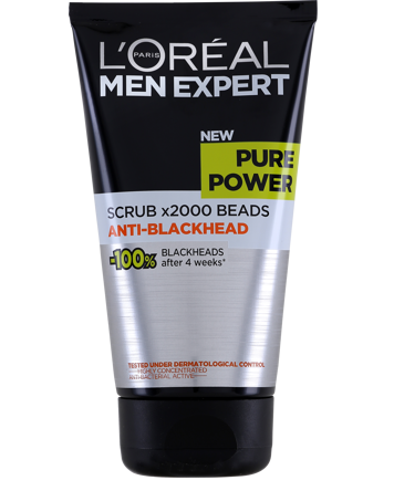L'Oréal Men Expert Pure Power Anti-Blackhead Scrub 150ml