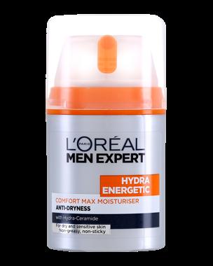 Men Expert Hydra Energetic Comfort Max Moisturiser 50ml
