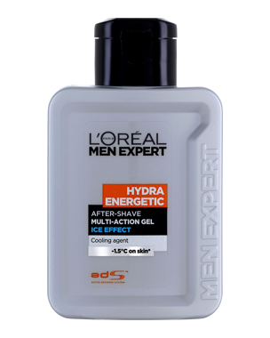L'Oréal Men Expert Hydra Energetic After Shave Gel Ice Effect 100ml