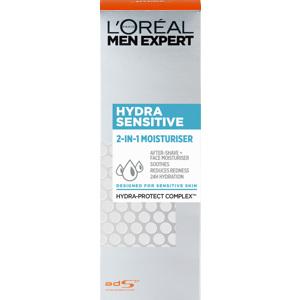 Men Expert Hydra Sensitive 2 in 1 Moisturiser (Sensitive Skin)
