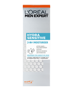 Men Expert Hydra Sensitive 2 in 1 Moisturiser (Sensitive Skin)