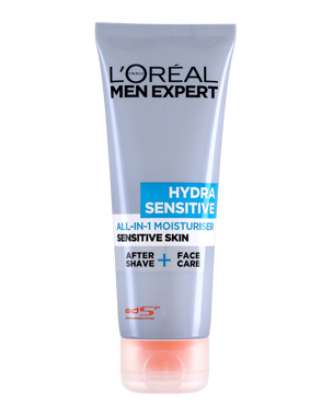 L'Oréal Men Expert Hydra Sensitive All in 1 Moisturiser (Sensitive S
