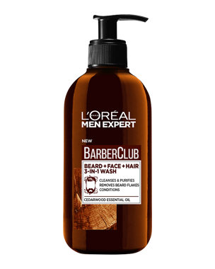 L'Oréal Men Expert Barber Club 3-in-1 Wash 200ml