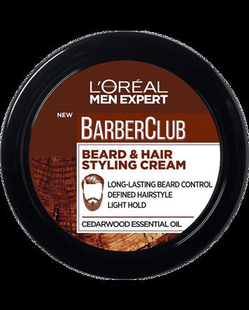 Men Expert Barber Club Beard & Hair Styling Cream 75ml