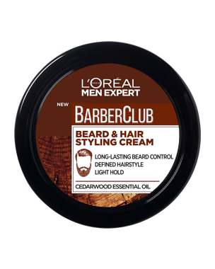 L'Oréal Men Expert Barber Club Beard & Hair Styling Cream 75ml