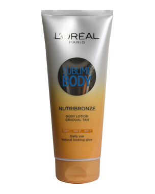 L'Oréal Nutribronze Body Lotion 200ml