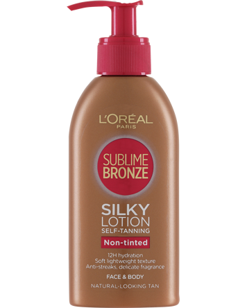 L'Oréal Sublime Bronze Self Tanning Lotion 150ml