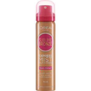 Sublime Bronze Self Tanning Express Dry Mist Face 75ml