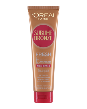 L'Oréal Sublime Bronze Fresh Feel Self Tan Gel Non-tinted 150ml