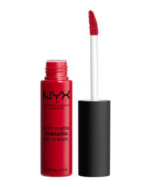 NYX Professional Makeup Soft Matte Metallic Lip Cream