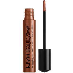 Liquid Suede Metallic Matte Lipstick