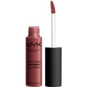 Soft Matte Metallic Lip Cream