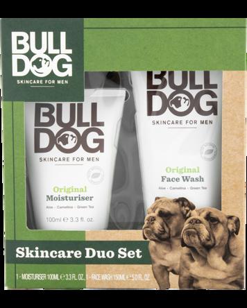Bulldog Original Moisturiser & Face Wash Duo, 100+150ml
