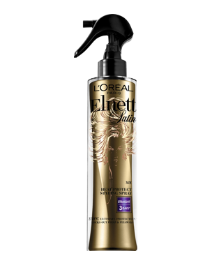 L'Oréal Elnett Satin Heat Protect Straight Hairspray, 170ml