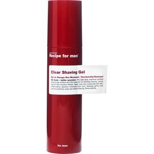Recipe for Men Clear Shaving Gel 100 ml