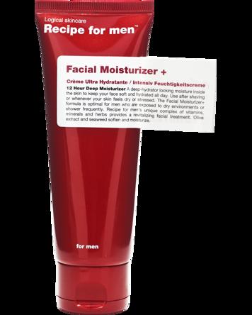 Recipe for Men Recipe for Men Facial Moisturizer+ 75 ml