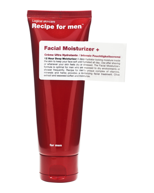 Recipe for Men Recipe for Men Facial Moisturizer+ 75 ml