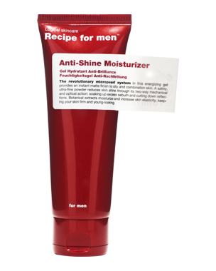 Recipe for Men Recipe for Men Anti-Shine Moisturizer 75 ml