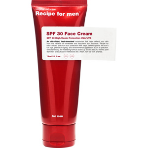 Recipe for Men SPF30 Face Cream 75 ml