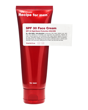 Recipe for Men Recipe for Men SPF30 Face Cream 75 ml