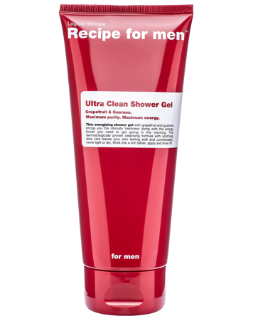 Recipe for Men Ultra Clean Shower Gel 200 ml