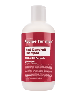 Recipe for Men Recipe for Men Anti-Dandruff Shampoo 250 ml