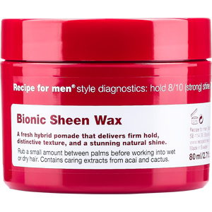 Recipe for Men Bionic Sheen Wax 80 ml