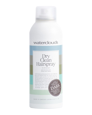 Waterclouds Dark Dry Clean Hairspray 200ml