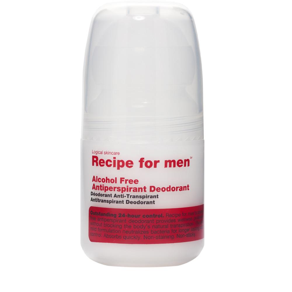 Recipe for Men Recipe for Men Antiperspirant Deodorant 60ml