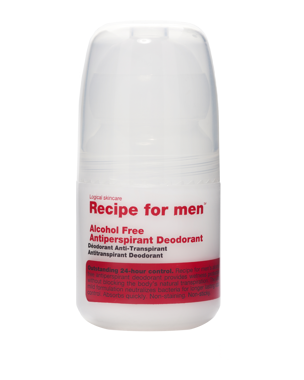Recipe for Men Recipe for Men Antiperspirant Deodorant 60ml