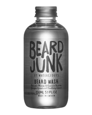 Waterclouds Beard Junk Beard Wash, 150ml