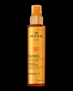 Nuxe Sun Tanning Oil Face & Body SPF10 150ml