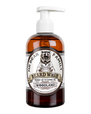 Mr. Bear Family Beard Wash Woodland, 250ml