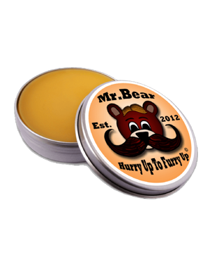 Mr. Bear Family Moustache Wax Original, 30g