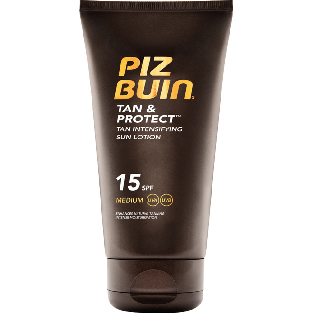 Piz Buin Tan & Protect Tan Intensifying Sun Lotion SPF15, 150ml