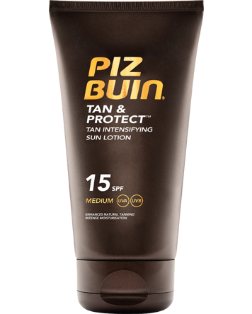 Piz Buin Tan & Protect Tan Intensifying Sun Lotion SPF15, 150ml