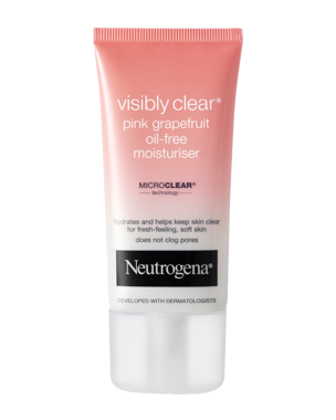 Neutrogena Visibly Clear Pink Grapefruit Oil-Free Moisturiser, 50ml