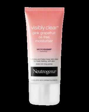 Neutrogena Visibly Clear Pink Grapefruit Oil-Free Moisturiser, 50ml
