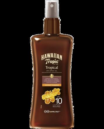 Hawaiian Tropic Protective Dry Spray Oil SPF10, 200ml