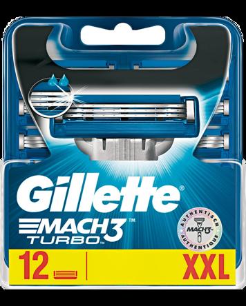 Gillette Gillette Mach3 Turbo 12-pack