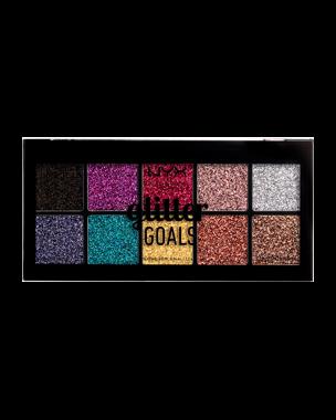 NYX Professional Makeup Glitter Goals Cream Pro Palette