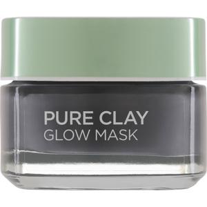 Pure Clay Glow Mask - Charcoal 50ml