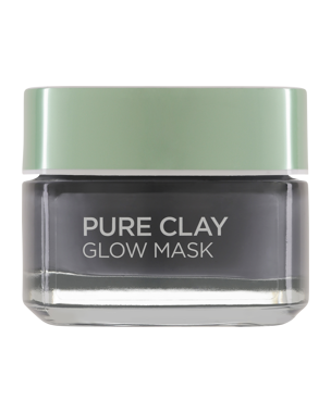 Pure Clay Glow Mask - Charcoal 50ml