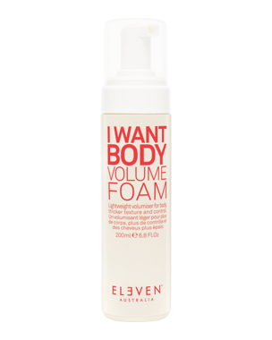 I Want Body Volume Foam 200ml