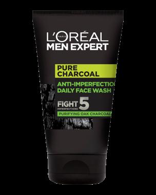 Men Expert Pure Characoal Wash 100ml