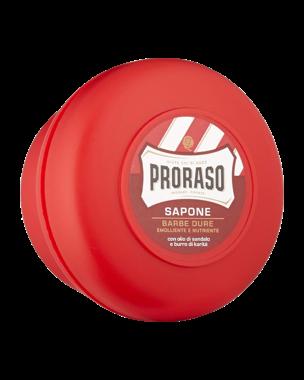Red Shaving Soap In Bowl 150ml