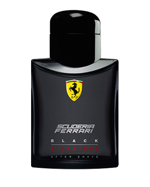 Ferrari Scuderia Black Signature, After Shave Lotion 75ml