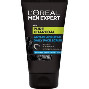 Men Expert Pure Characoal Scrub 100ml