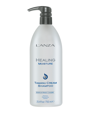 LANZA Healing Moisture Tamanu Cream Shampoo