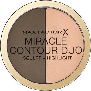 Miracle Contour Duo, Medium/Deep